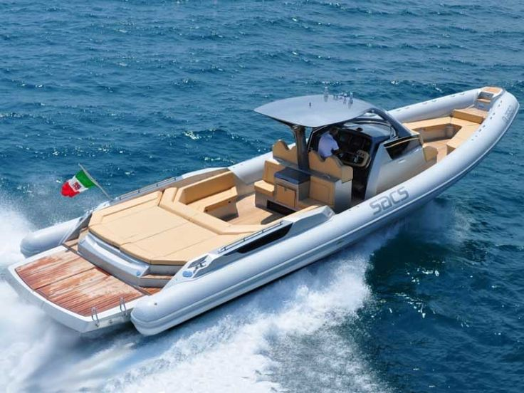 Leave it to the Italians to make the most insane RIBs you've ever seen: SACS Marine - Top Class - Strider 15 - Info @ www.marinfinito.com