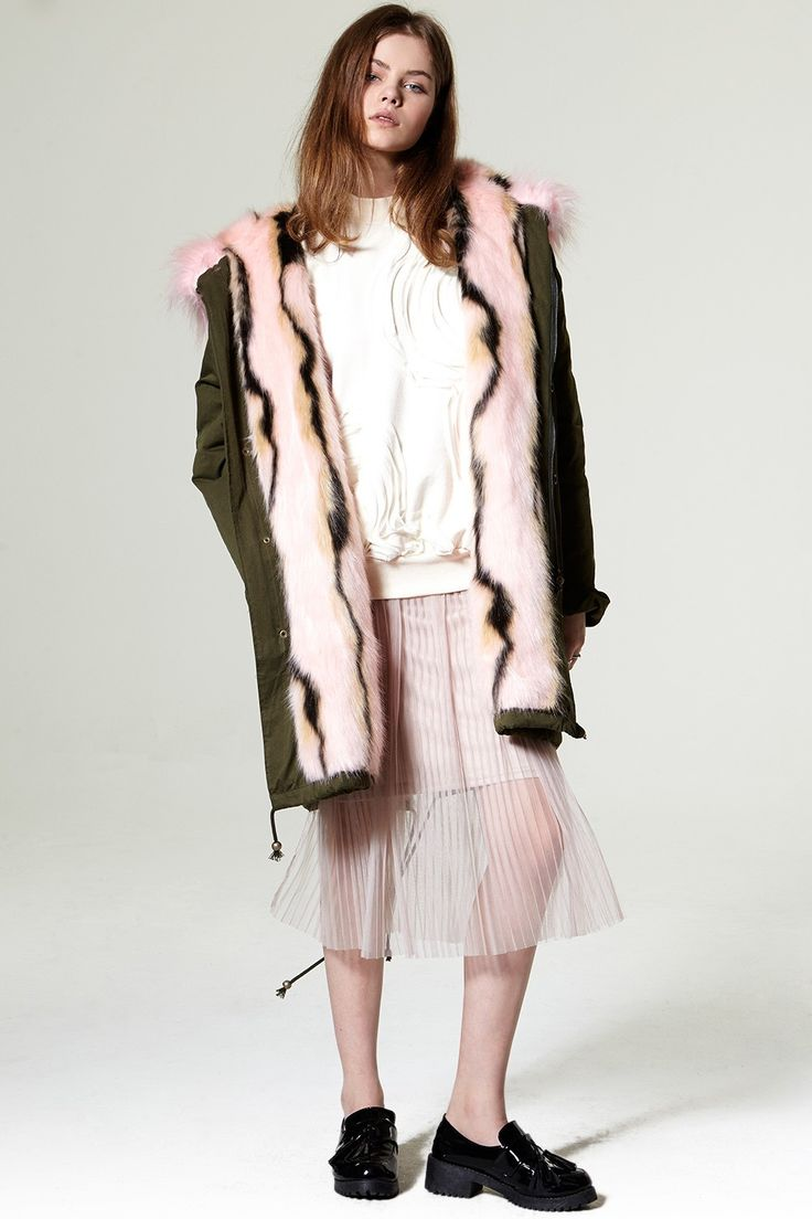 Nodella Faux Fur Parka Jacket Discover the latest fashion trends online at storets.com