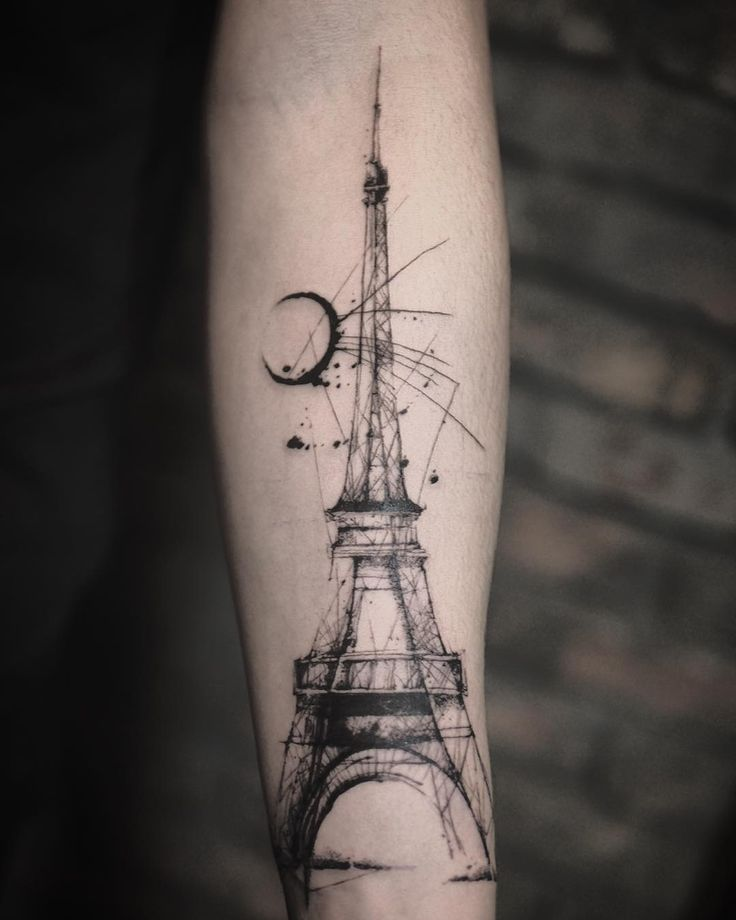 Eiffel Tower Tattoos | POPSUGAR Smart Living