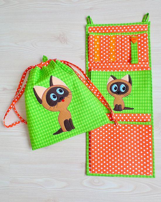 Made by Irinelli: Котёнок по имени Гав и сумочки
