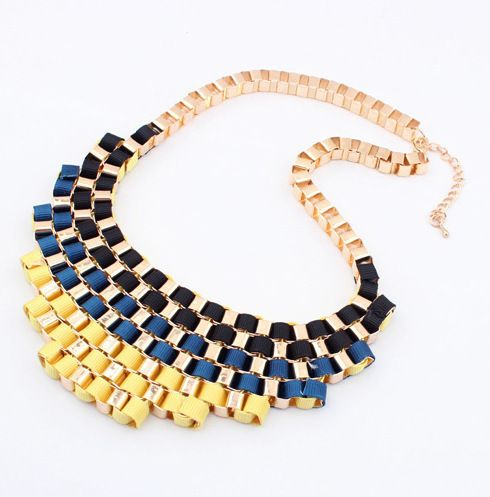 19 Style Luxury Statement Alloy Necklaces & Pendants Women Link Chain Fashion 2014 New items Chokers Colar HOT Jewelry XL1062-in Chain Neckl...
