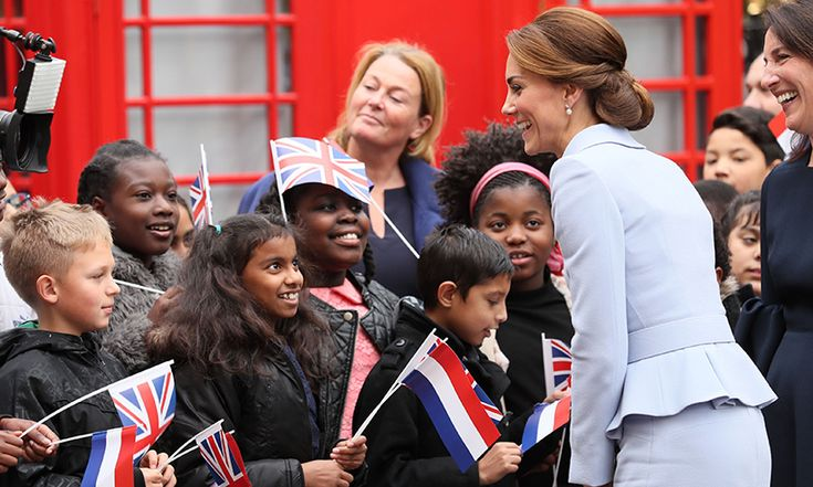 Kate touches down in the Netherlands for first solo visit abroad