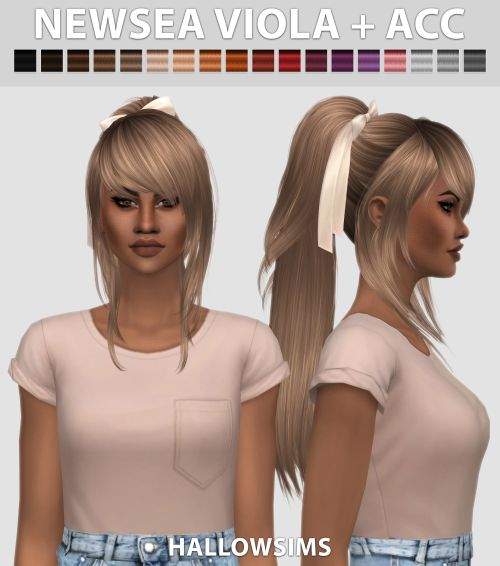 Newsea Viola + ACC by HallowSims.