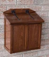 modern wooden mailbox - Recherche Google                                                                                                                                                                                 More