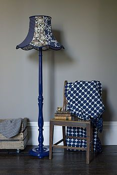 painted standard lamp.....