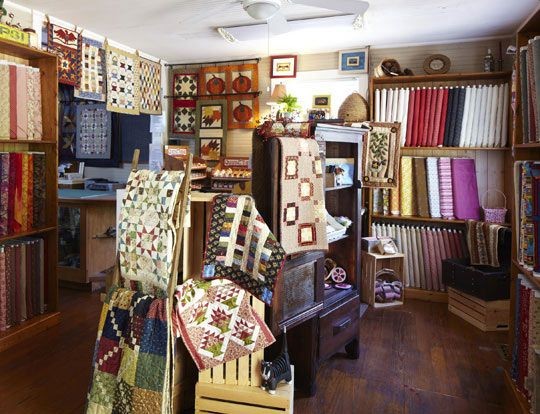 7 best Quilt Shops images on Pinterest | Quilt shops, Bees and ... : quilt shops in north carolina - Adamdwight.com