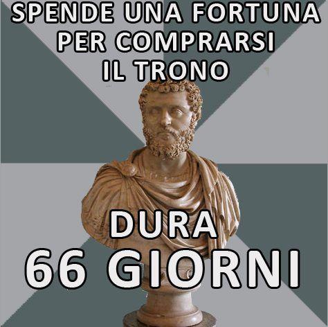 Didio Giuliano e il suo fiuto per gli affari