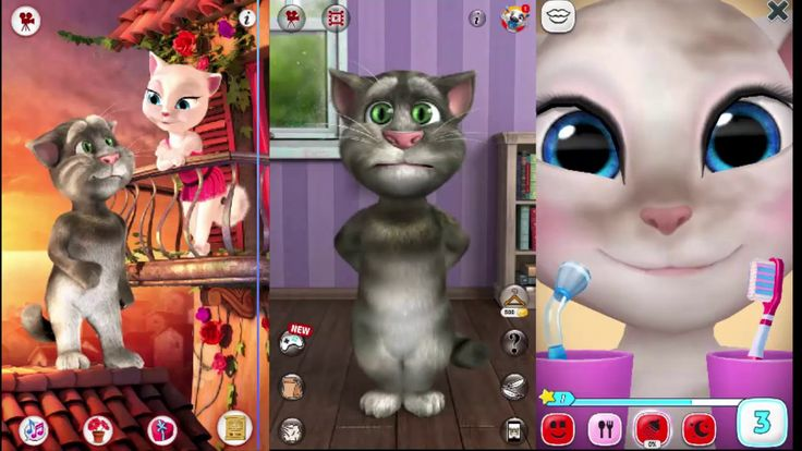 My Talking Tom Vs. My Talking Angela | Great Makeover Gameplay for Children and Baby | Kids Games