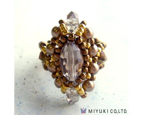 18 best Miyuki Beaded Ring Kits Jewelry Kits Seed Bead Kits images