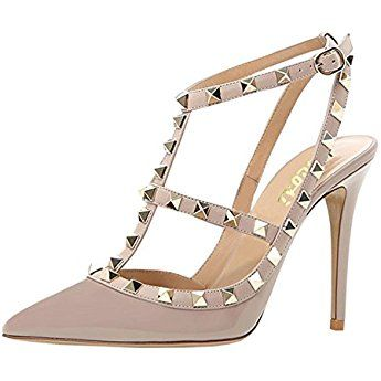 the look for less  valentino rockstud shoe dupes with