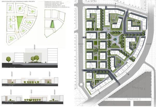 Urban Design by Zuzanna Jędrzejewska, via Behance