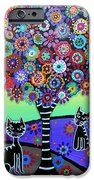 2 Cats Whimsical IPhone 6s Case by Pristine Cartera Turkus