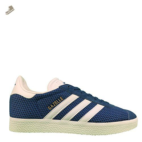 adidas Gazelle Womens Trainers Blue White - 4 UK - Adidas sneakers for  women (*