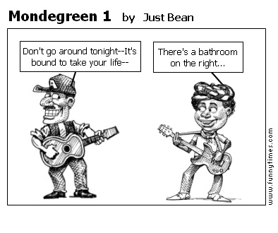 Credence Clearwater Revivial Mondegreening about the location of the washroom...apparently, some bands decided to actually perform misheard lyrics publicly..so the story goes for CCR
