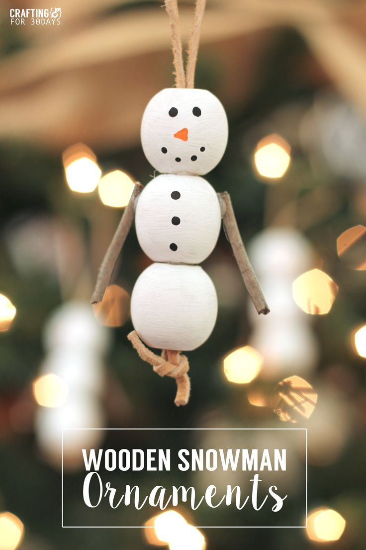 Lawyer christmas ornaments - Wooden Rustic Snowman Ornaments