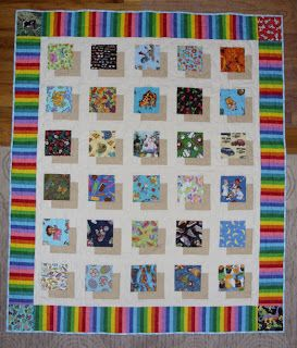 Elizabeth's Quilt Projects: Different I Spy