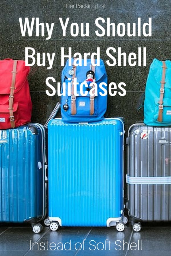 When choosing luggage, it comes down to what suits you and your trip best. To help with the decision, here's why you should buy a hard shell suitcase over a soft shell one.