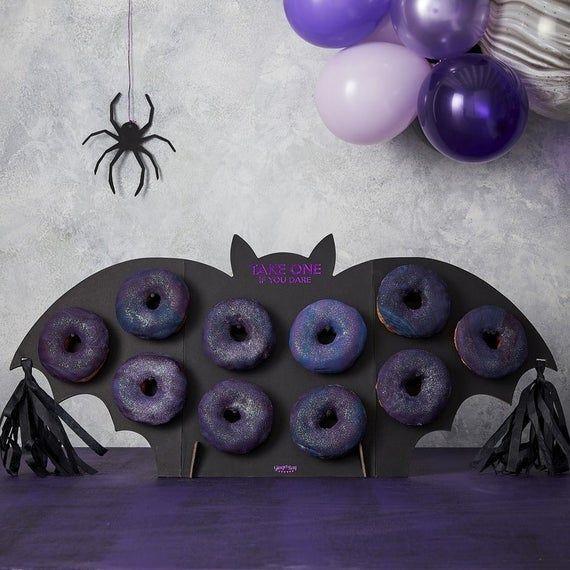 Bat Donut Wall Party