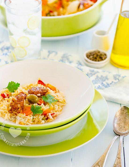 Receta Arroz con de Chorizo Hecho al Horno: Para un fin de semana relajado este plato no requiere que pases mucho tiempo en la cocina.