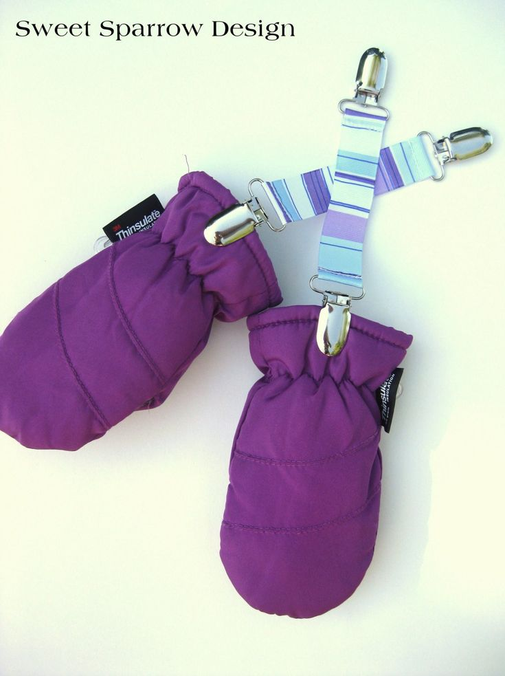 "No one enjoys losing mittens! Keep those mittens safe and close by with our handmade mitten clips! Strong clips keep gloves attached to your child's jacket. Cute and practical mitten clips are made with ribbon, triple stitched for added durability. Ends are heat-sealed to prevent fraying. Clips are lead-free and have plastic inserts so they are gentle on fabrics. { DETAILS }: - Approx 6-7"" long, including metal clips. May be made shorter/longer upon request. - One pair of SOLID BLUE…"
