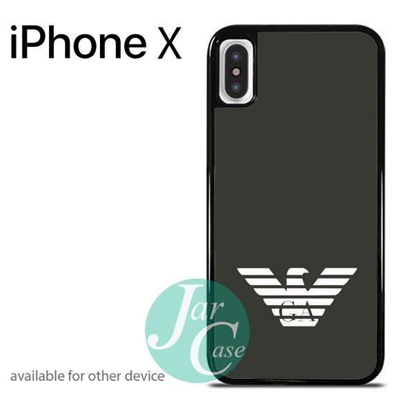 giorgio armani logo2 Phone case for iPhone X