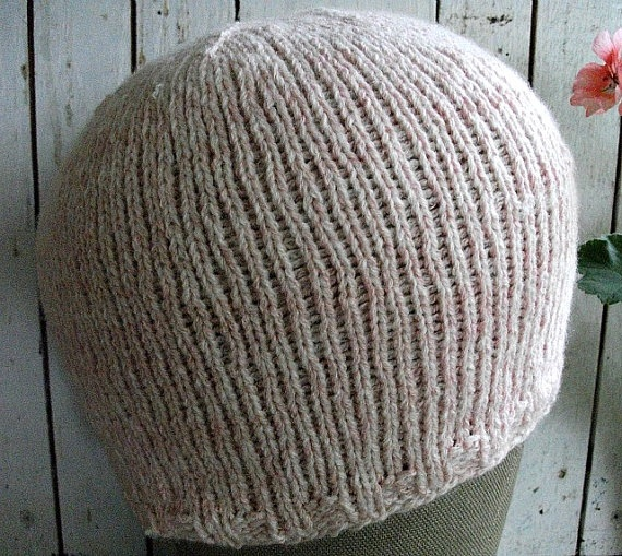 Cashmere Chemo Cap Knitted Soft and Comfortable by wishestogether, $21.50