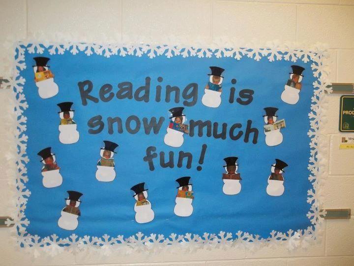 January Bulletin Board Ideas   Winter Reading Bulletin ...