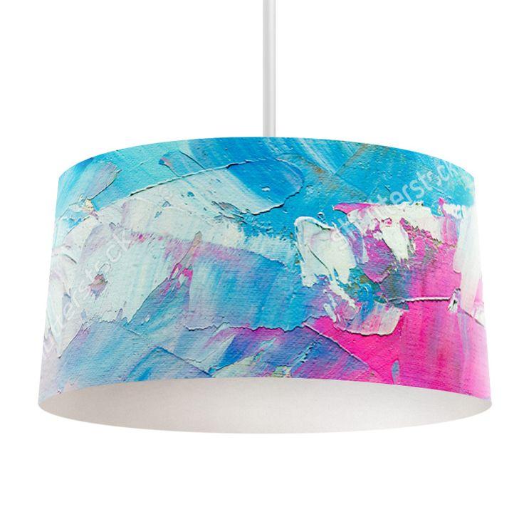 Lampenkap Palet | Bestel lampenkappen voorzien van digitale print op hoogwaardige kunststof vandaag nog bij YouPri. Verkrijgbaar in verschillende maten en geschikt voor diverse ruimtes. Te bestellen met een eigen afbeelding of een print uit onze collectie.  #lampenkap #lampenkappen #lamp #interieur #interieurdesign #woonruimte #slaapkamer #maken #pimpen #diy #modern #bekleden #design #foto #verf #verven #roze #blauw #kunst #art