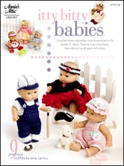 Itty Bitty Babies: Bitty Dolls, Crochet Dolls, Dolls Clothing, Crochet Books, Baby Crochet, Baby Dolls, Patterns Books, Crochet Patterns, Dolls Patterns