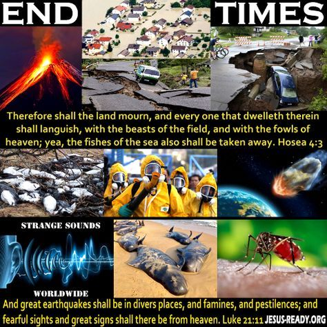 Signs of the End Times, signs of the end days, prophetic signs, signs in the sky, Bible End Time prophecy
