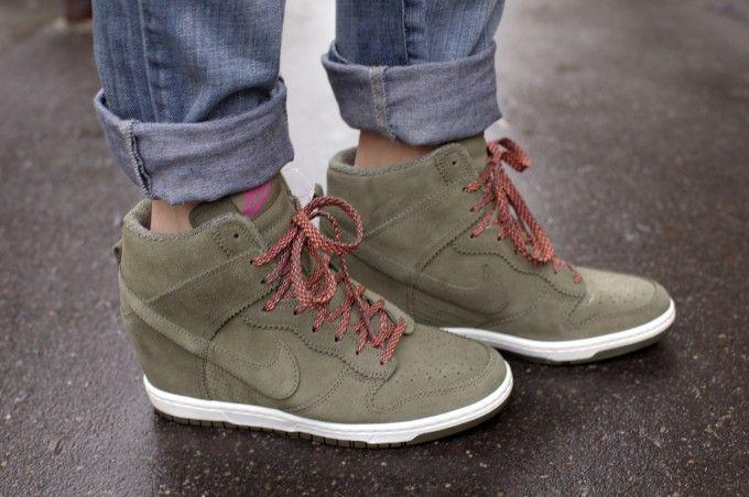 Nike hidden wedge sneakers - PurseForum