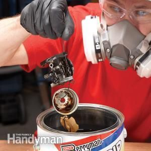 How to Repair Small Engines: Cleaning the Carburetor   The Family Handyman