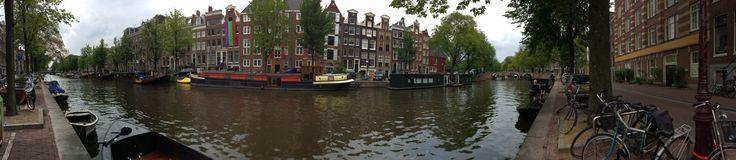 Amsterdam ....panoramica canali.