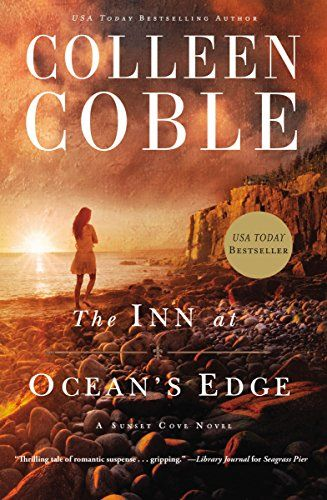 The Inn at Ocean's Edge (A Sunset Cove Novel) by Colleen Coble. Christian romantic suspense. I loved this book. It had a fascinating plot line and kept me glued.