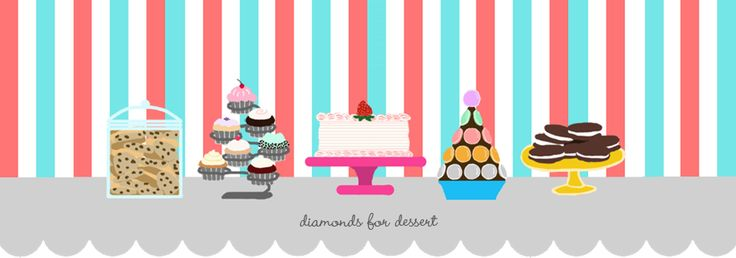diamonds for dessert - this gal's blog has some of the most fun and creative creations I've ever seen. It's fun to read about how she comes up with her ideas.