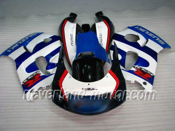 SUZUKI GSX-R 600/750 1996-1999 ABS Verkleidung - Blau / Weiß