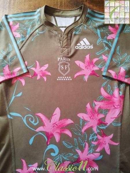 2007/08 Stade Français Home Rugby Shirt (L)
