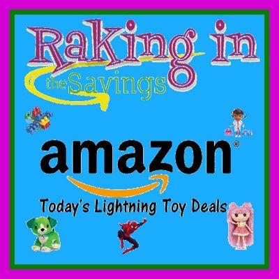 Round up of Amazon Toy Lightning Deals for 11/28! - http://www.rakinginthesavings.com/round-up-of-amazon-toy-lightning-deals-for-1128/