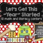 Here is a set of math and literacy centers to use for the beginning of the year! Your students will love the fun activities. Included in this set a...