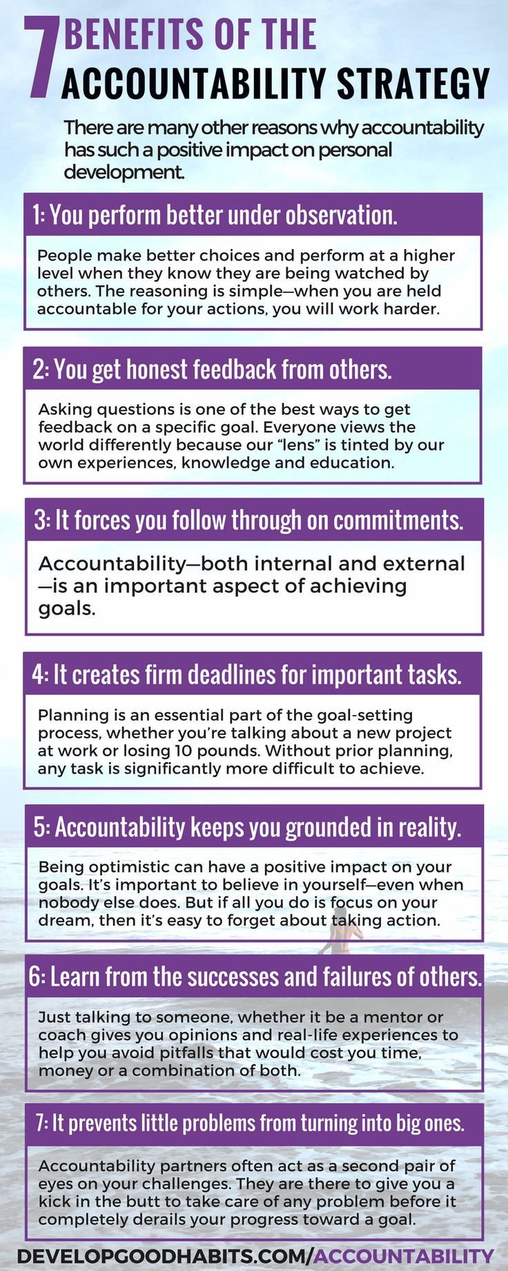 EXCERPT: from book: accountability manifesto. --Book on accountability and reaching goals.
