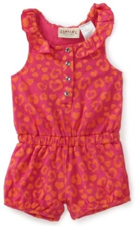 Carters Baby-Girls Infant Leopard Print Sleeveless Romper