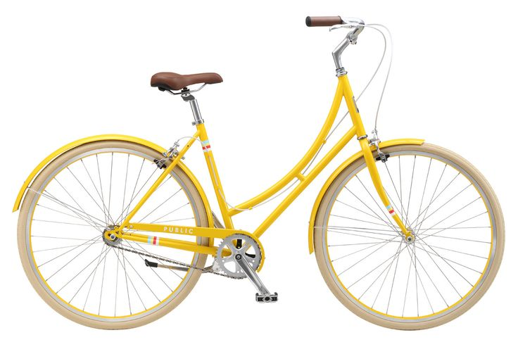 This affordable single-speed Dutch style bike boasts a high-quality, lightweight frame and is fun and easy to ride. Description The new PUBLIC C1 step-thru is everything that a great Dutch bike should