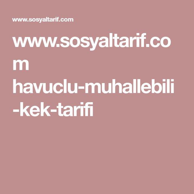 www.sosyaltarif.com havuclu-muhallebili-kek-tarifi