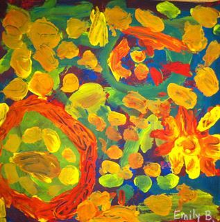 Check out student artwork posted to Artsonia from the Kindergarten Primary Colors Mix to Make Secondary Colors Paintings project gallery at Eastridge Elementary School.