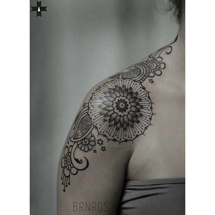Front Shoulder Tattoo                                                       …