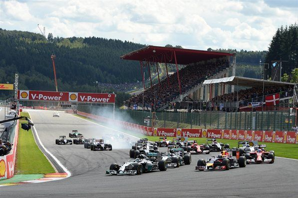 Belgian Grand Prix 2014 Race