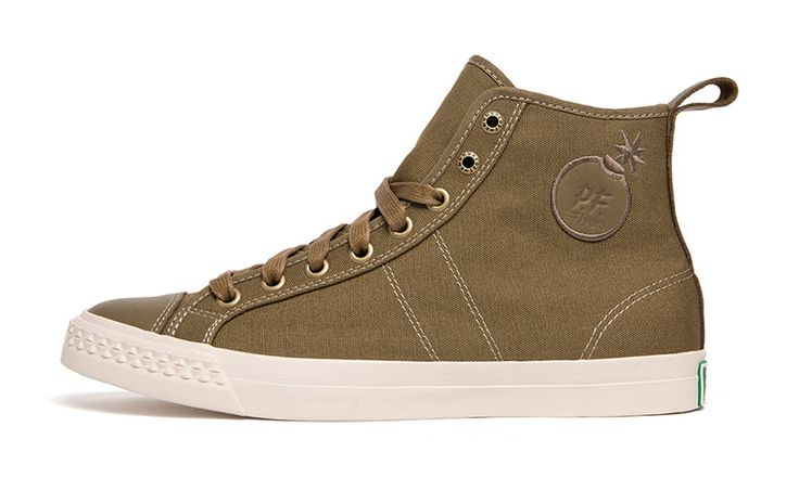 The Hundreds Joins PF Flyers for Military-Inspired Rambler Duo
