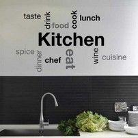 Frase adesiva Kitchen