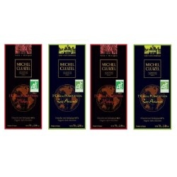 """Chocolate de alta gama Michel Cluizel de las plantaciones """"Los Ancones"""" y """"Mokaya""""  """"Gran Cru"""" de aromas y sabores excepcionales"""