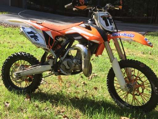 Check out this 2016 KTM SX 85 listing in Roanoke, VA 24018 on Cycletrader.com. It is a Dirt Bike Motorcycle and is for sale at $4200.